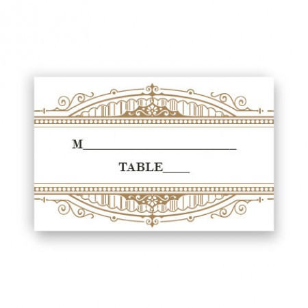 Clara Seating Cards