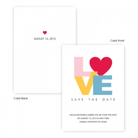 Sophia Save The Date Cards