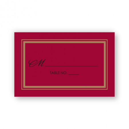 Kennedy Seating Cards