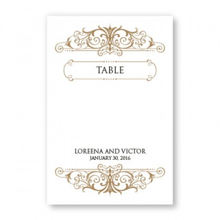 Ava Table Cards