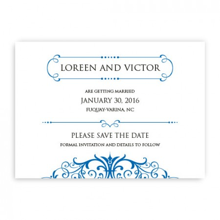 Felicia Save The Date Cards