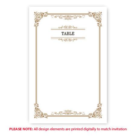 Skyla Table Cards
