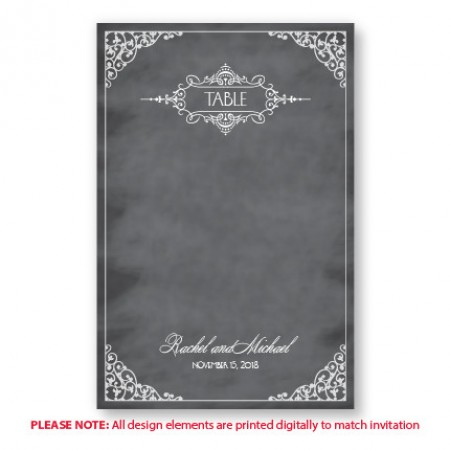 Maggie Table Cards