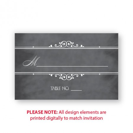 Maggie Seating Cards