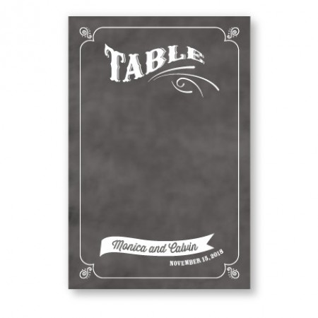 Jenny Table Cards