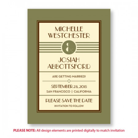 Fern Save The Date Cards