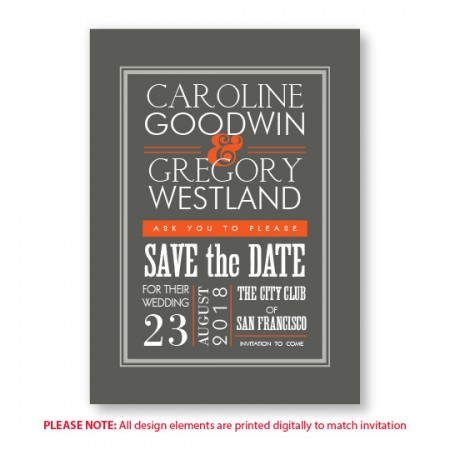 Ellen Save The Date Cards