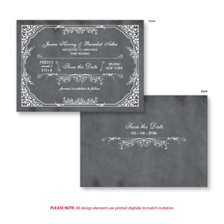 Coraline Save The Date Cards