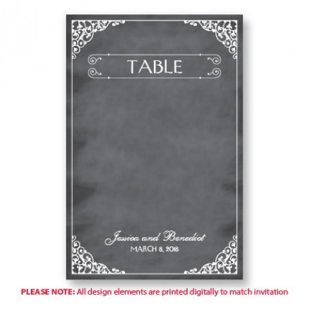 Coraline Table Cards