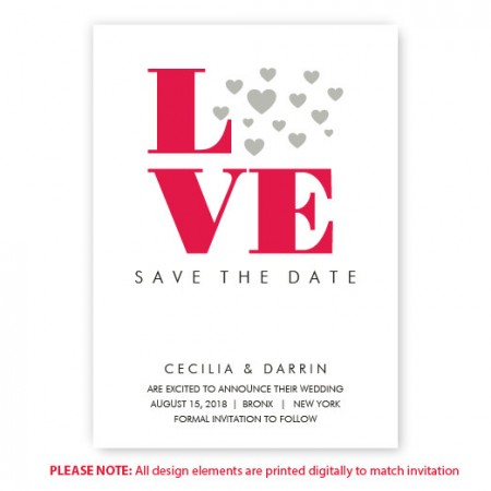 Courtney Save The Date Cards