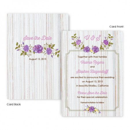 Penny Save The Date Cards