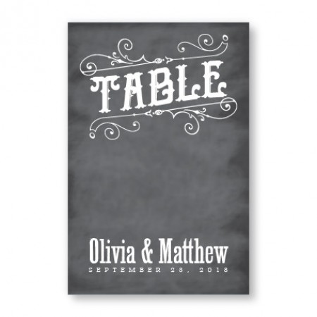 Mara Table Cards