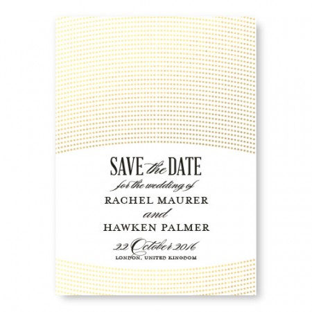 Ellington Foil Save The Date Cards