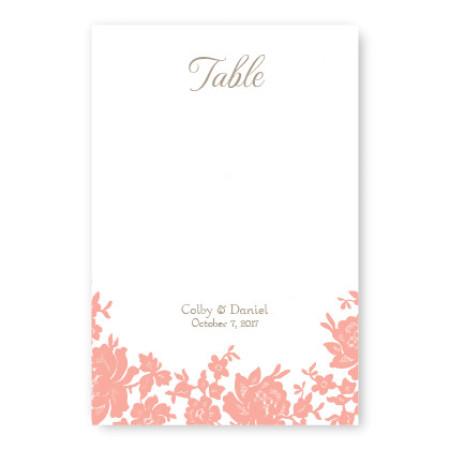 Antique Lace Table Cards