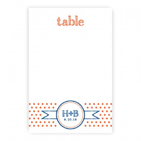Petite Dots Table Cards