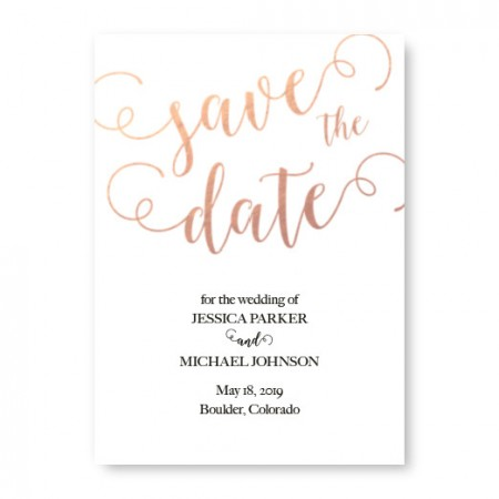 Concerto Save The Date Cards