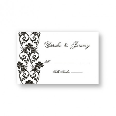 Lavish Border Seating Cards