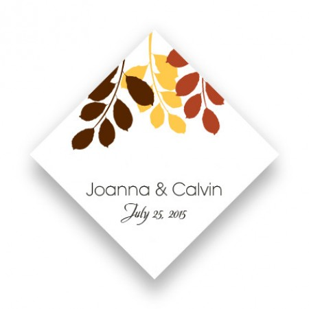 Passionate Leaves Favor Tags