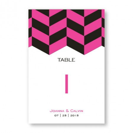Stylish Statement Table Cards