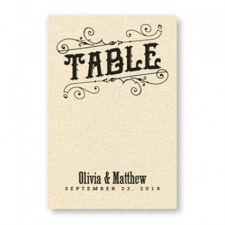 Mara Thermography Table Cards