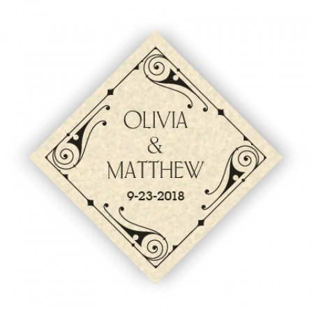 Mara Thermography Favor Tags