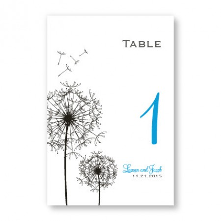 Pick a Posy Table Cards