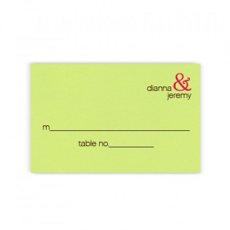 Kelsey Seating Cards