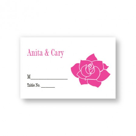 Blooming Inspiration Seating Cards