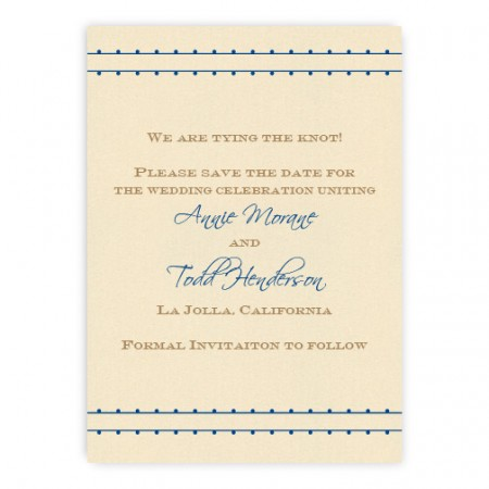 Annie Save the Date Cards