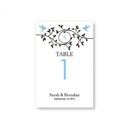 Bright Beginnings Table Cards