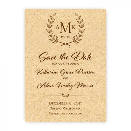 Laurel Save the Date Cards