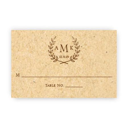 Laurel Seating Cards