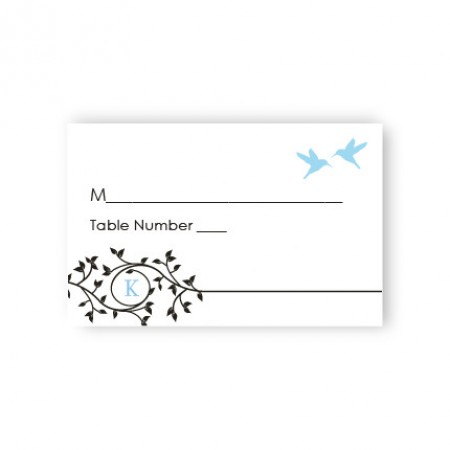 Bright Beginnings Seating Cards
