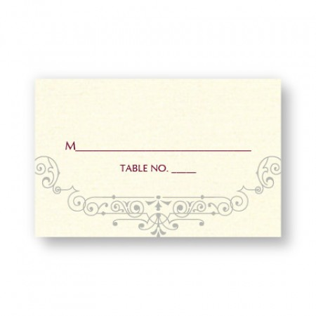 Belle Seating Cards