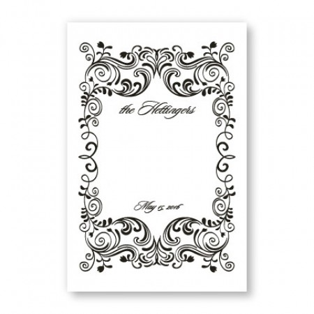 Sophistication Table Cards