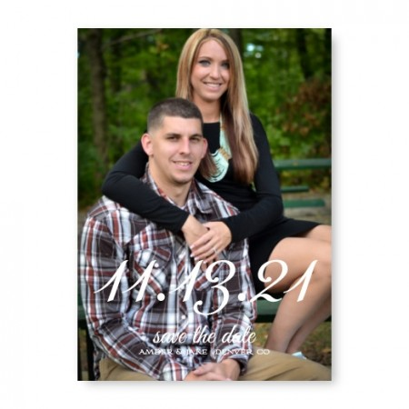 Special Date Photo Save The Date Cards
