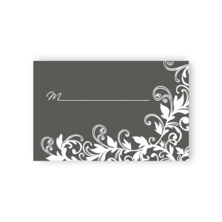Flowering Vines Seating Cards