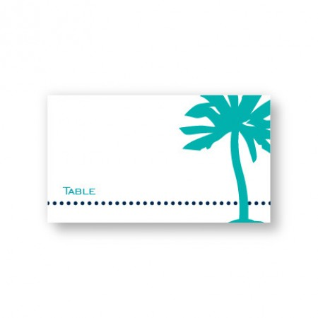 Palm Seating Cards