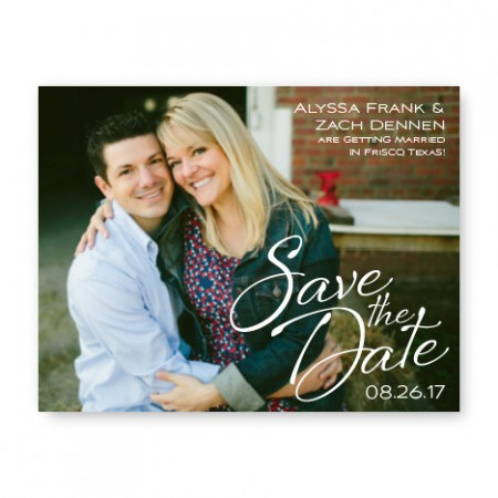 Flirt Photo Save the Date Cards