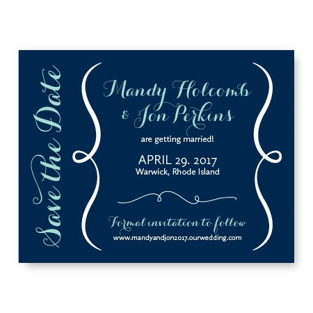Embrace Save The Date Cards