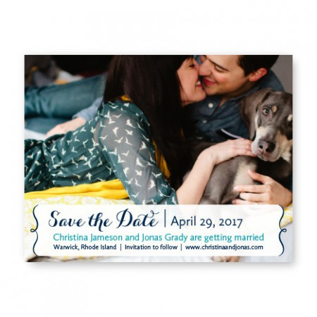 Embrace Photo Save the Date Cards