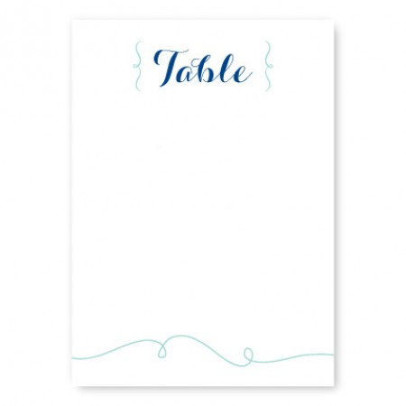 Embrace Table Cards