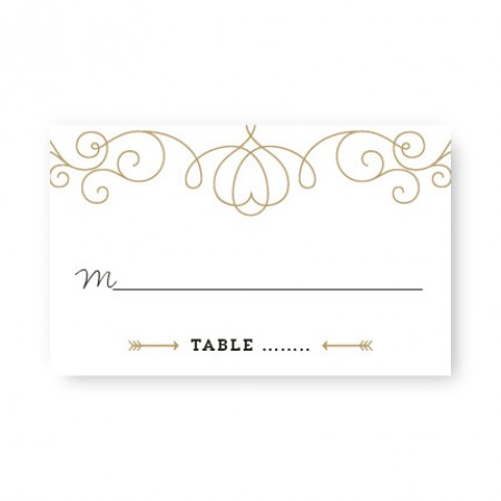 Heart Seating Cards