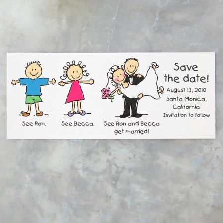 See Dick and Jane Save the Date Cards