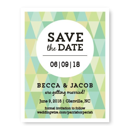 Prism Save The Date Cards