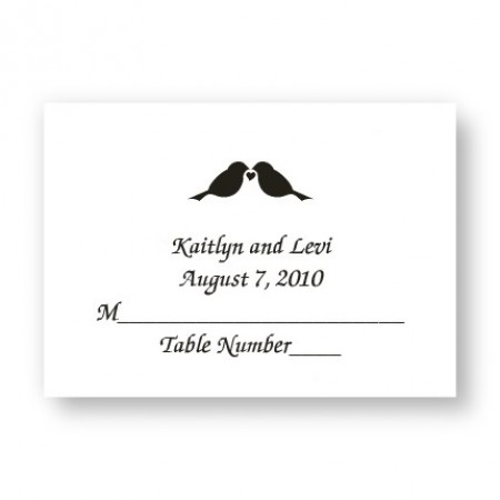 Design Your Own Place Cards