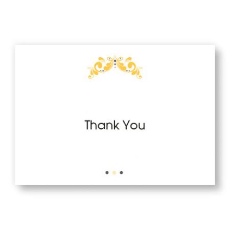 Tuxedo Thank You Cards