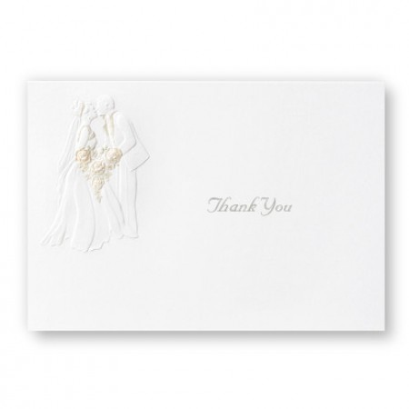 First Kiss Thank You Cards