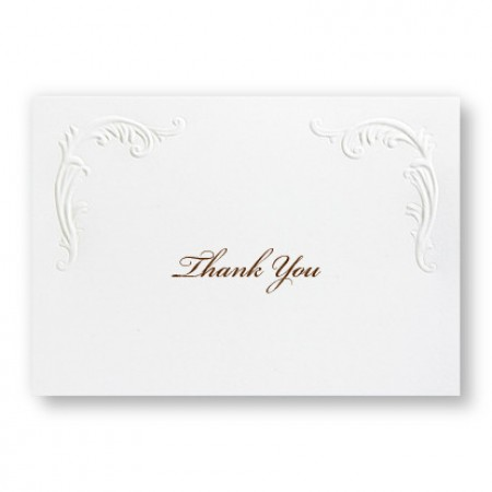 Versailles Thank You Cards