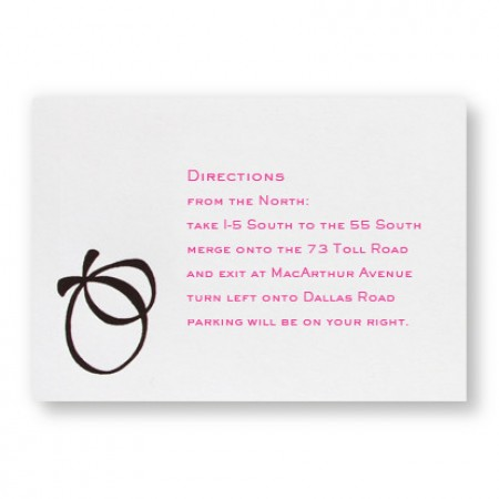 With this Ring Direction Cards - LIMITED STOCK ON HAND